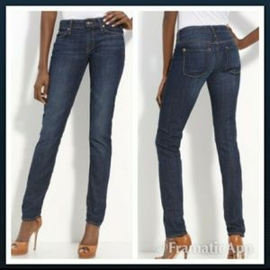Vince Size 26 Adelaide distressed skinny jeans